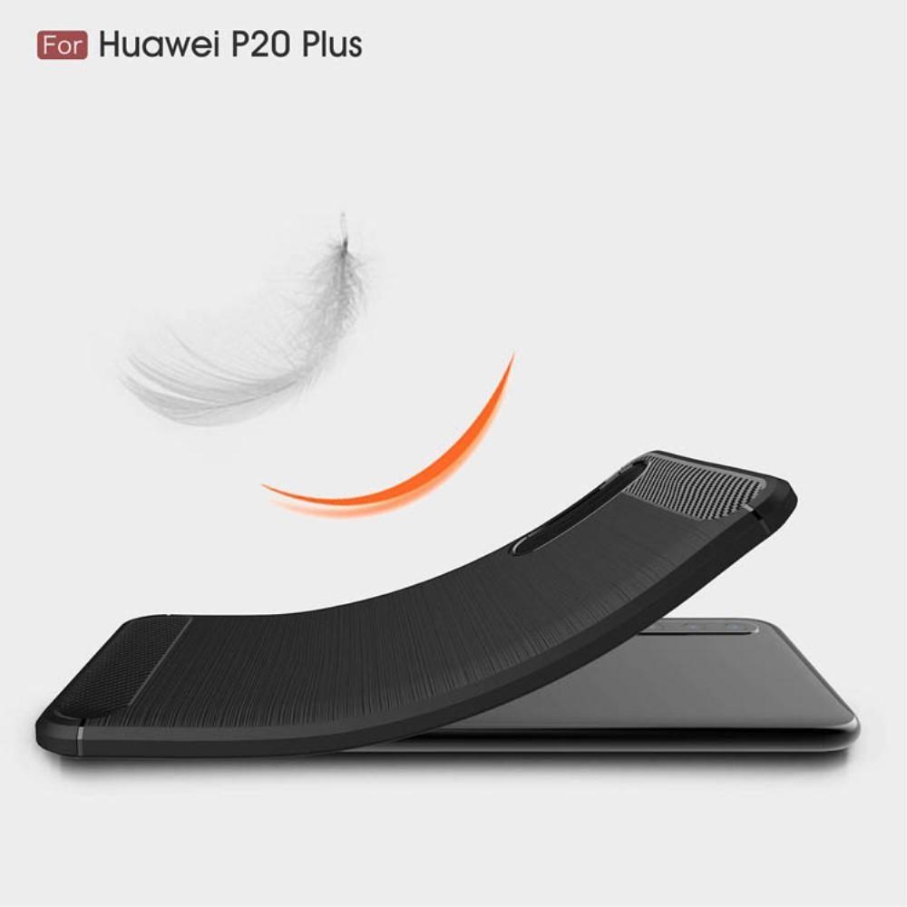 Brushed TPU Kuori for Huawei P20 Pro black