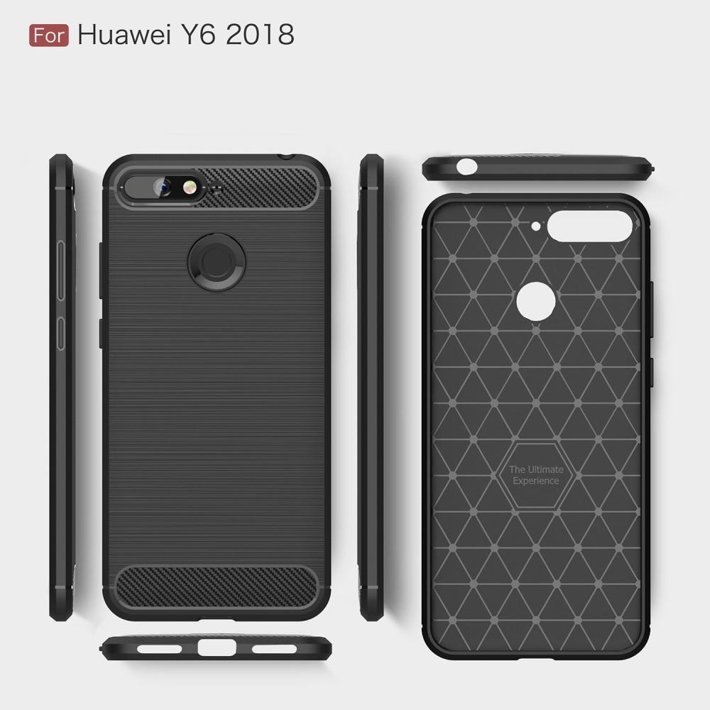 Brushed TPU Kuori for Huawei Y6 2018 black