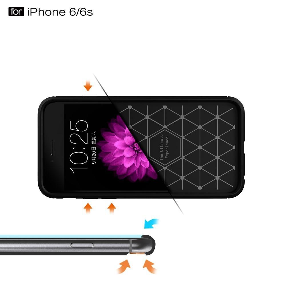 Brushed TPU Kuori for iPhone 6/6S black