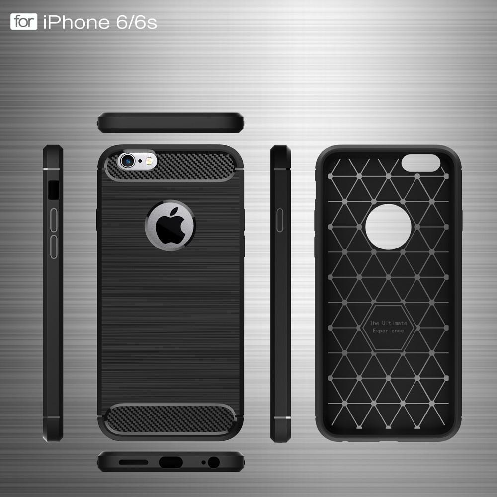 Brushed TPU Kuori for iPhone 6 Plus/6S Plus black