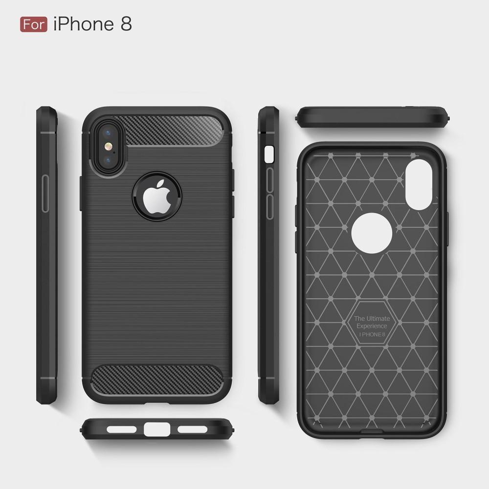 Brushed TPU Kuori for iPhone X/XS black