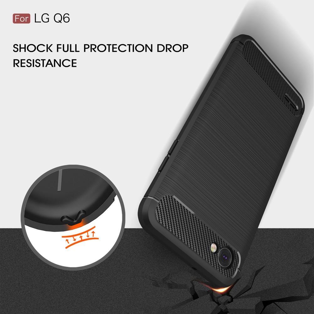Brushed TPU Kuori for LG Q6 black