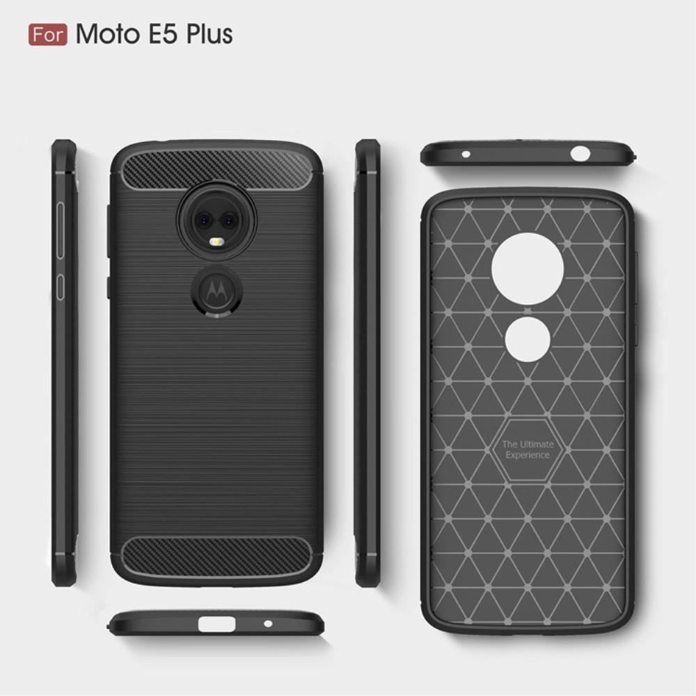 Brushed TPU Kuori for Moto E5 Plus black