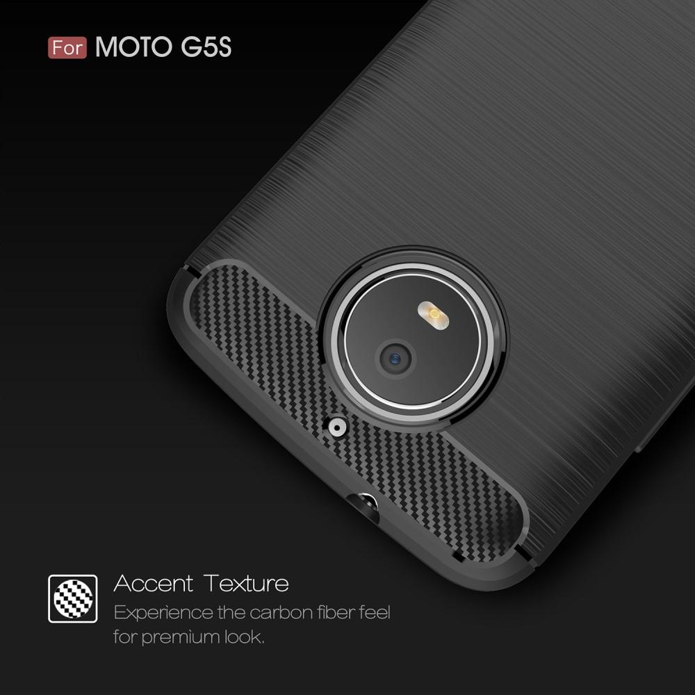 Brushed TPU Kuori for Moto G5S black