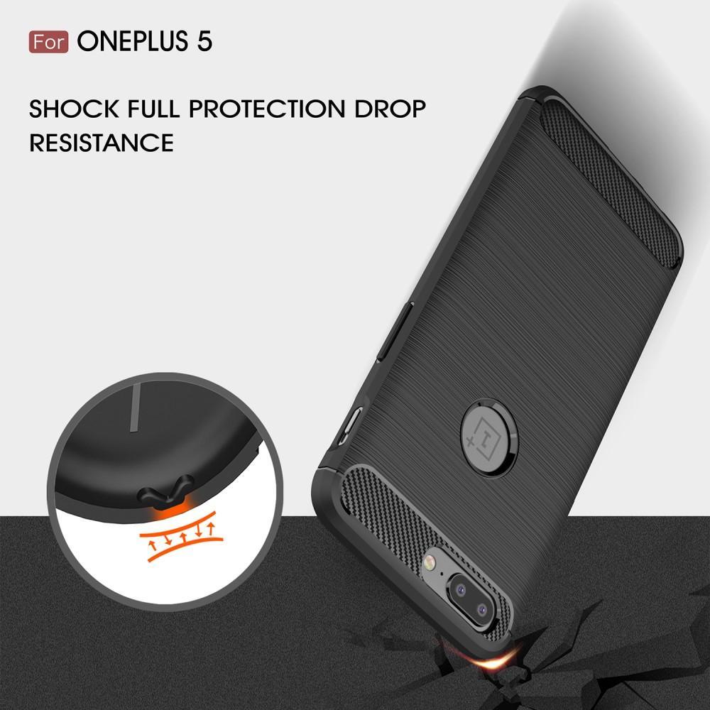 Brushed TPU Kuori for OnePlus 5 black
