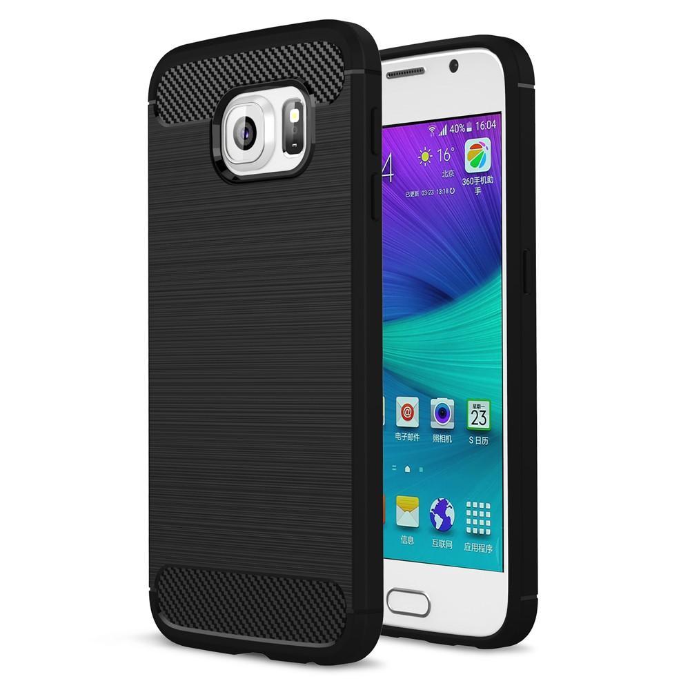 Brushed TPU Kuori for Samsung Galaxy S6 black