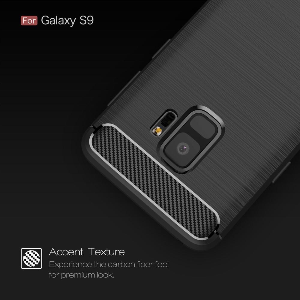 Brushed TPU Kuori for Samsung Galaxy S9 black