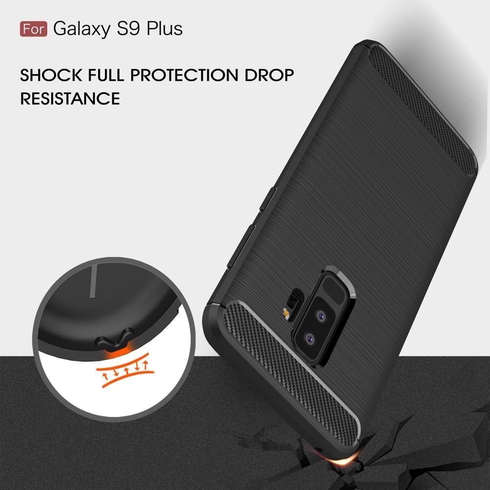 Brushed TPU Kuori Samsung Galaxy S9 Plus black