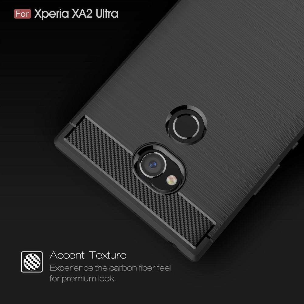 Brushed TPU Kuori for Sony Xperia XA2 Ultra black