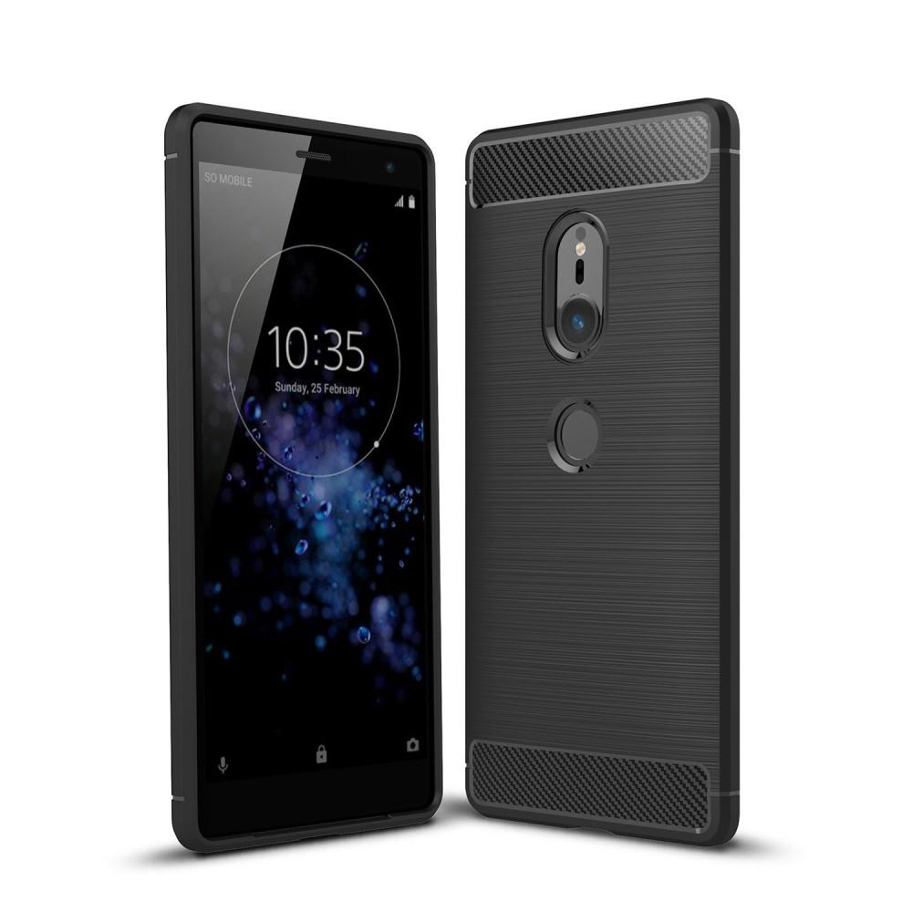 Brushed TPU Kuori for Sony Xperia XZ2 black