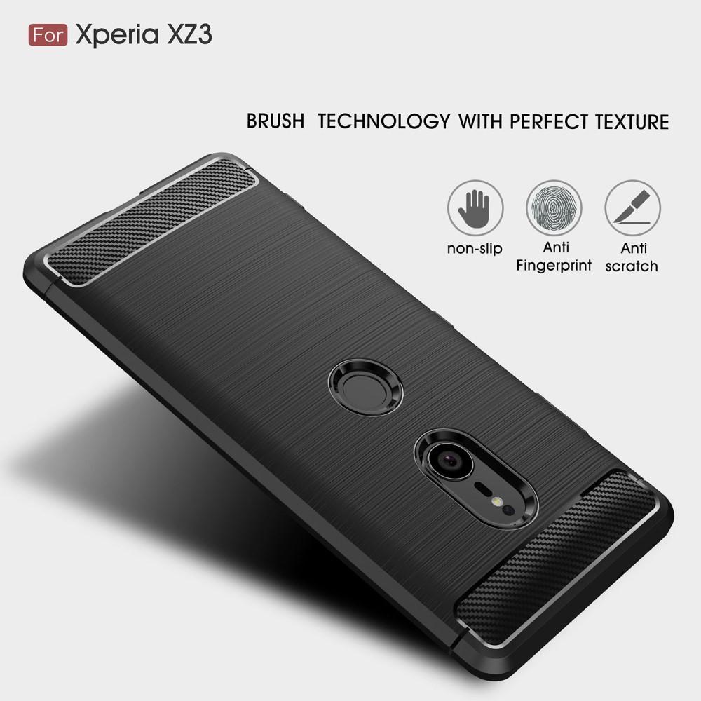 Brushed TPU Kuori for Sony Xperia XZ3 black