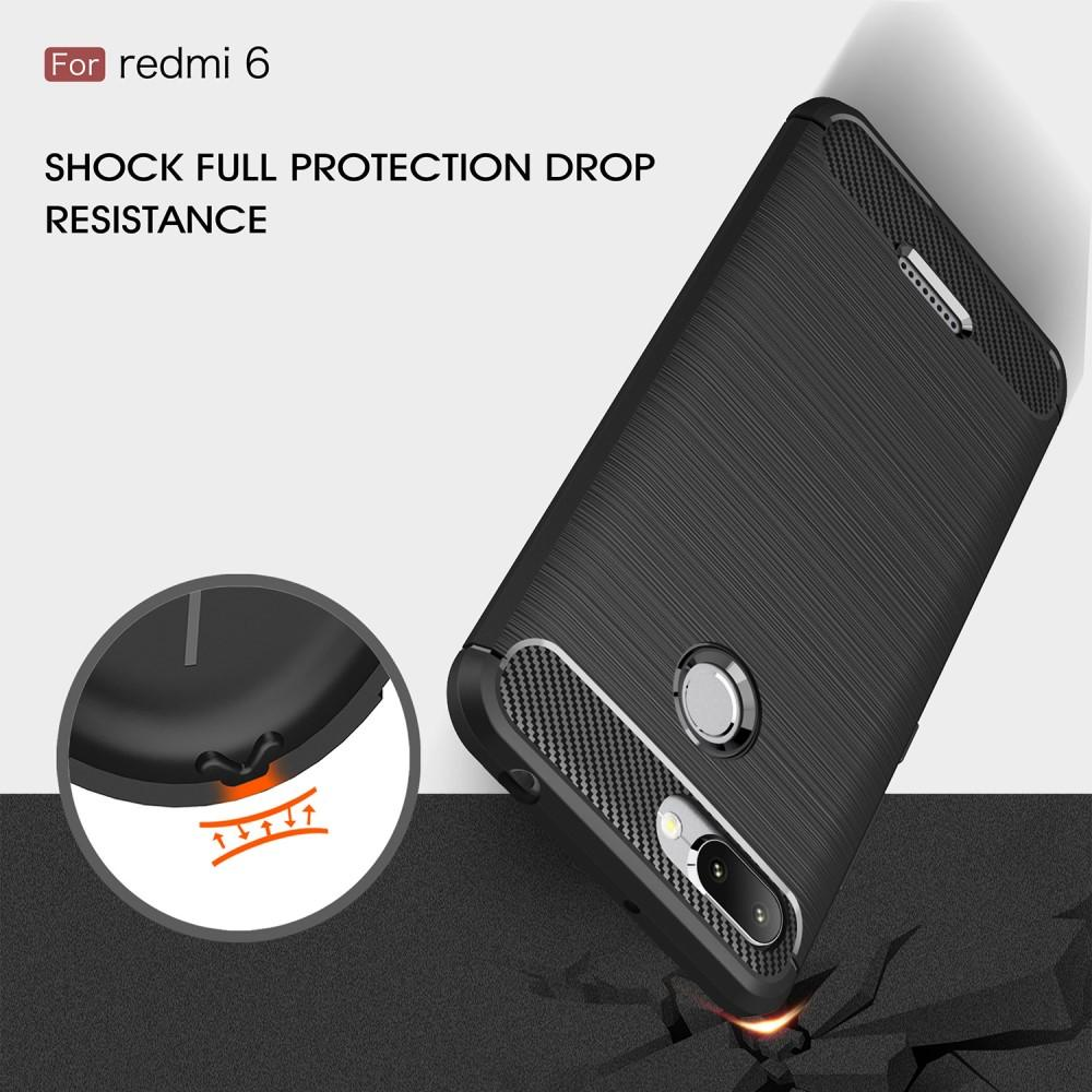 Brushed TPU Kuori for Xiaomi Redmi 6 black