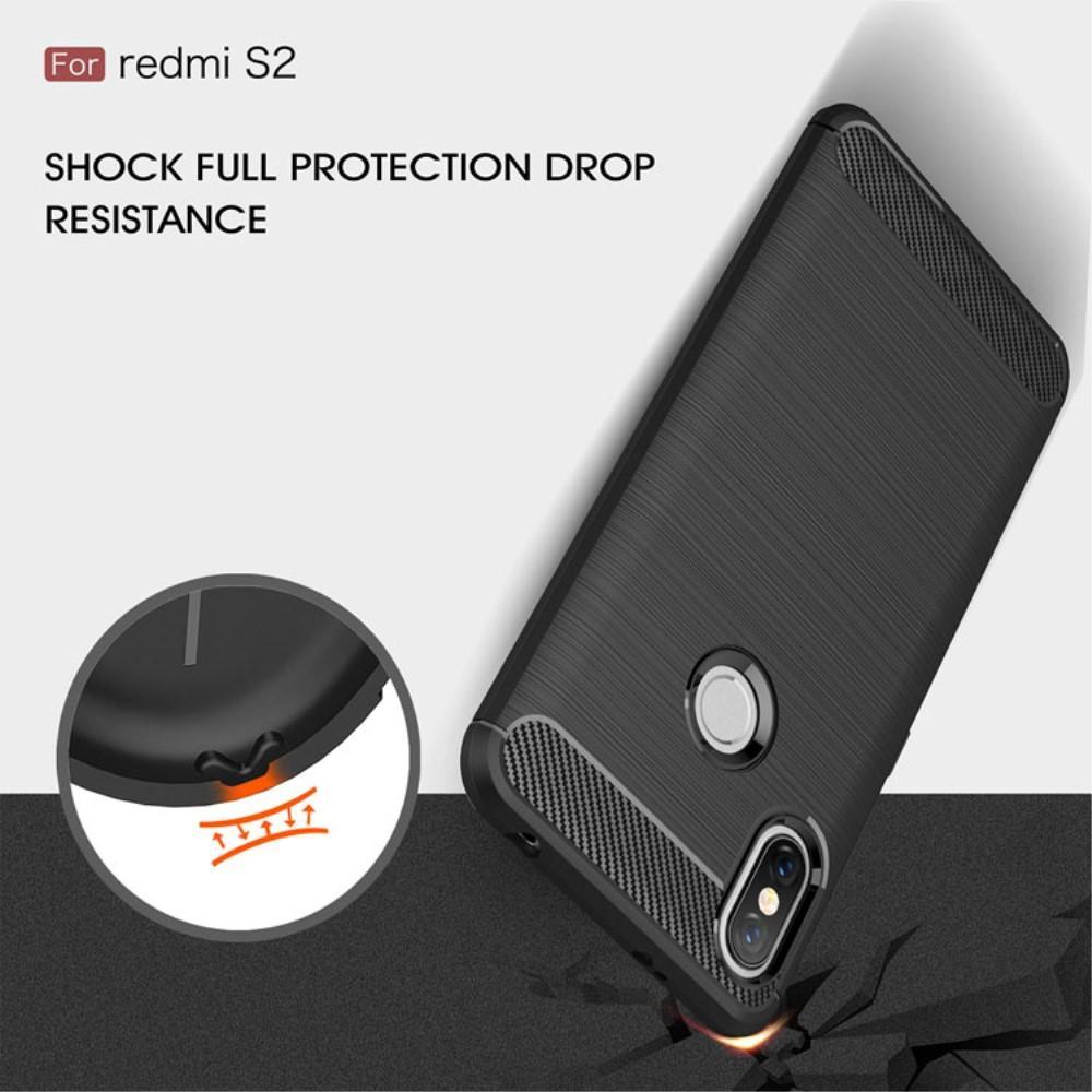 Brushed TPU Kuori for Xiaomi Redmi S2 black