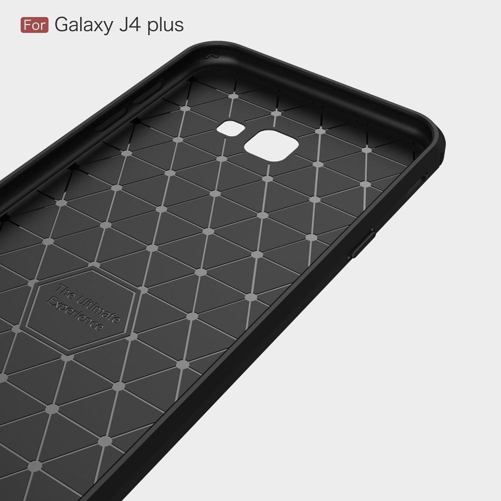 Brushed TPU Kuori Samsung Galaxy J4 Plus 2018 black