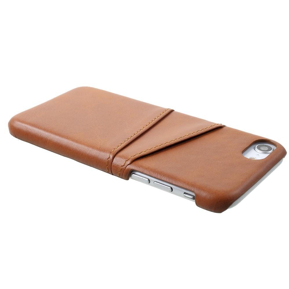 Card Slots Case iPhone 7/8/SE 2020 ruskea