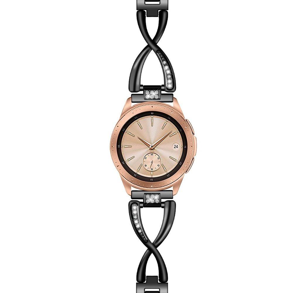 Crystal Bracelet Galaxy Watch 42mm/Active Black