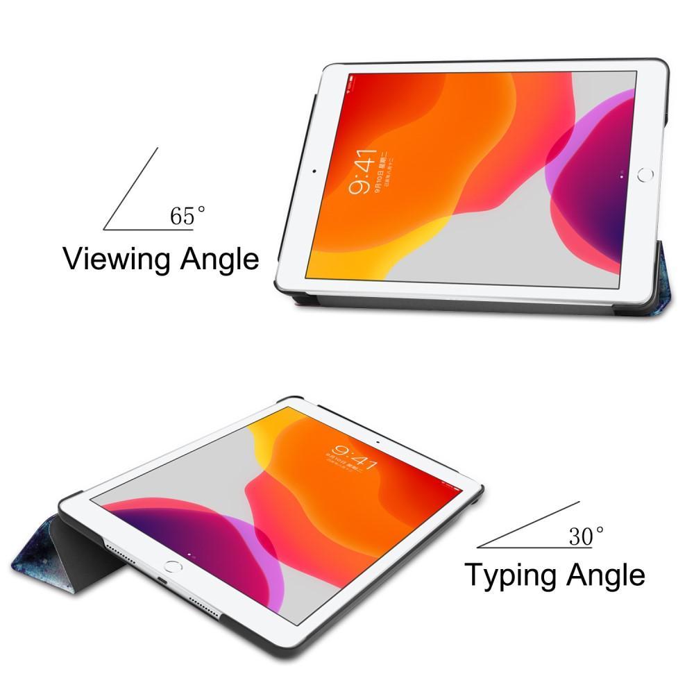 Kotelo Tri-fold Apple iPad 10.2 ulkoavaruus