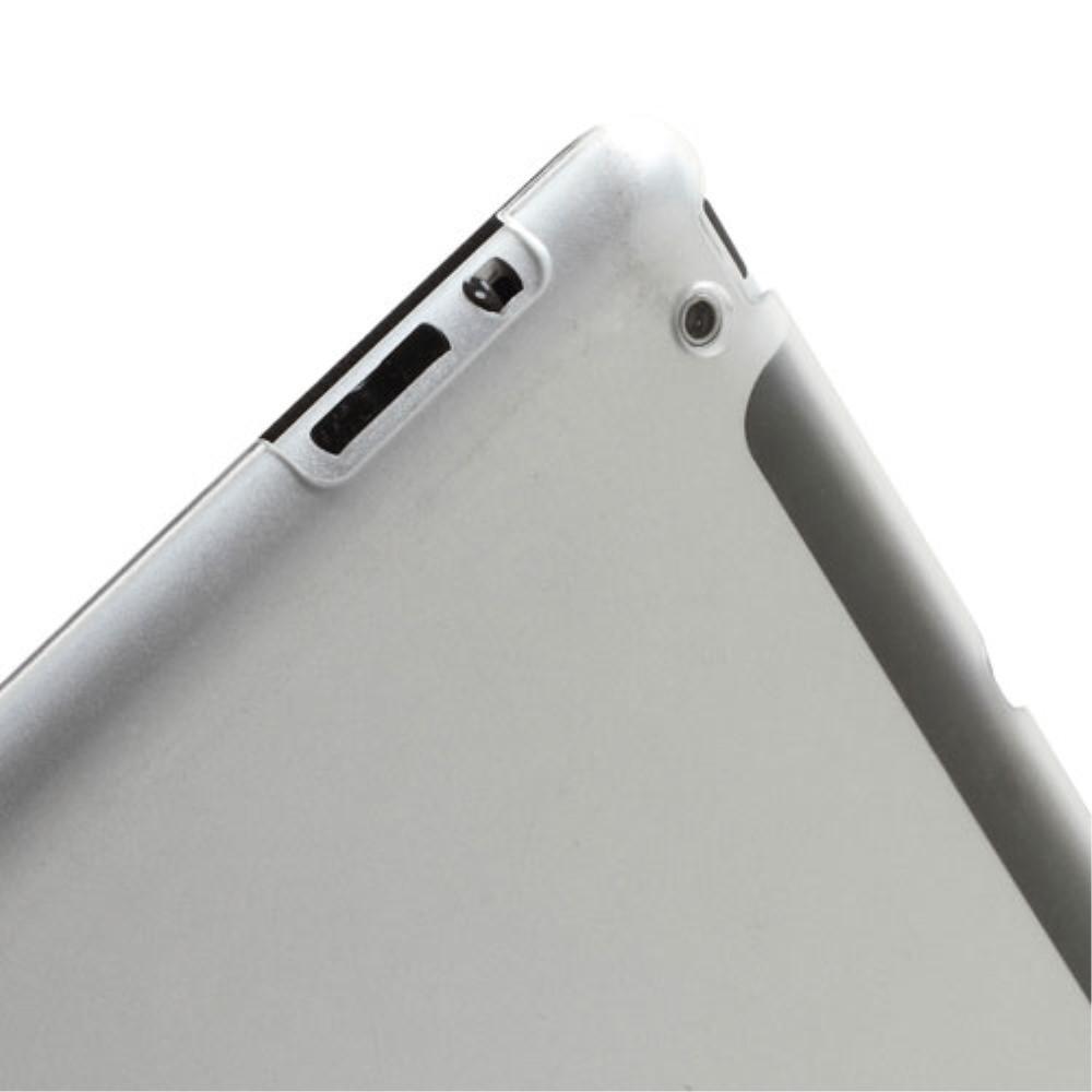 Kotelo Tri-fold Apple iPad 2/3/4 musta