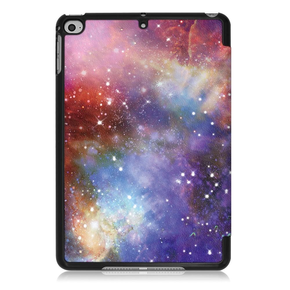 Kotelo Tri-fold Apple iPad Mini 2019 ulkoavaruus