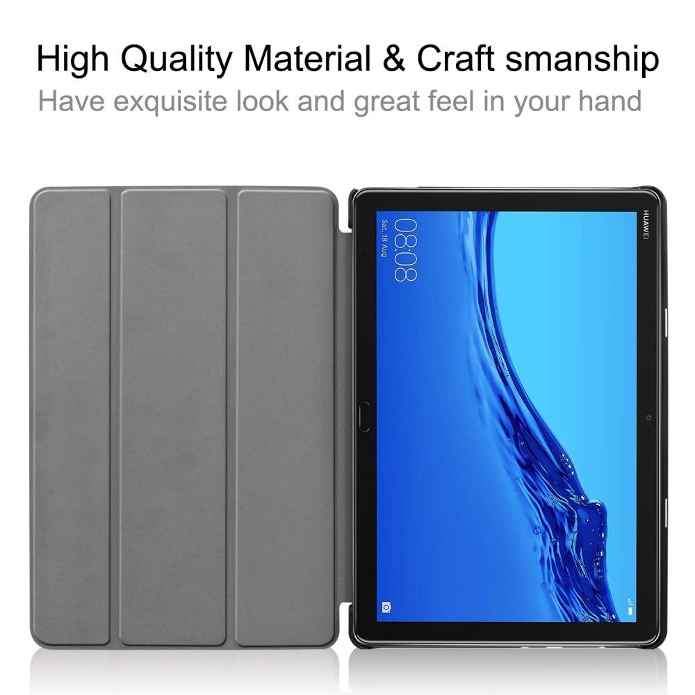 Kotelo Tri-fold Huawei MediaPad M5 Lite 10 musta