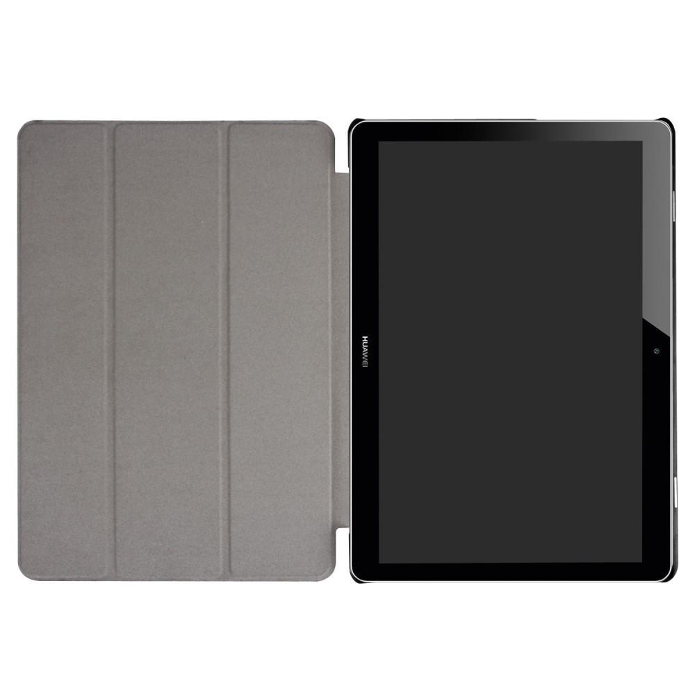 Kotelo Tri-fold Huawei Mediapad T3 10 musta