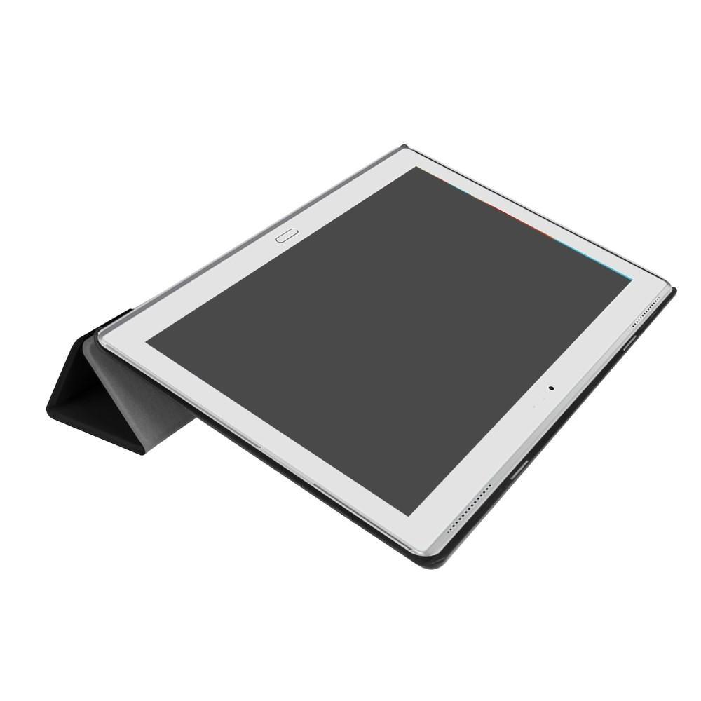 Kotelo Tri-fold Lenovo Tab 4 10 Plus musta