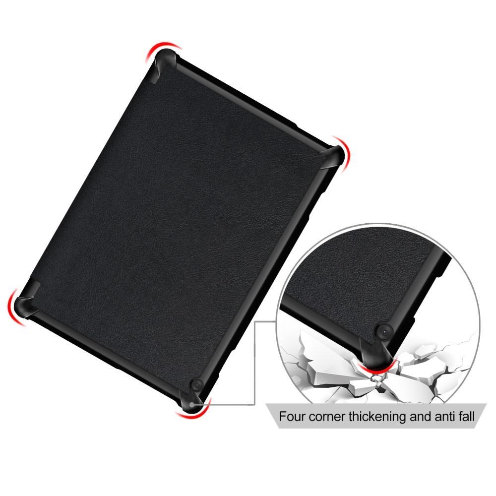 Kotelo Tri-fold Lenovo Tab M10 musta