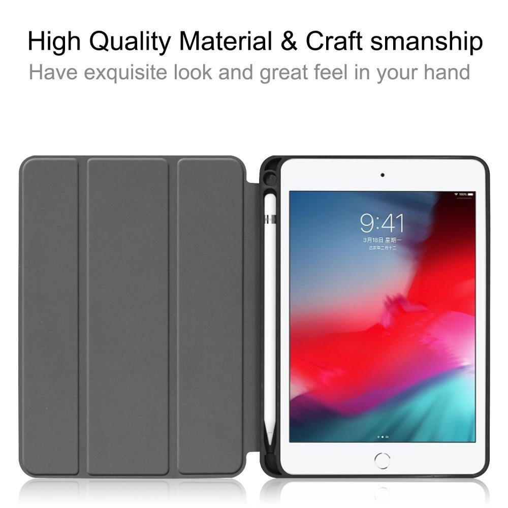 Kotelo Tri-fold Kynäpidikkeellä iPad Mini 2019 musta