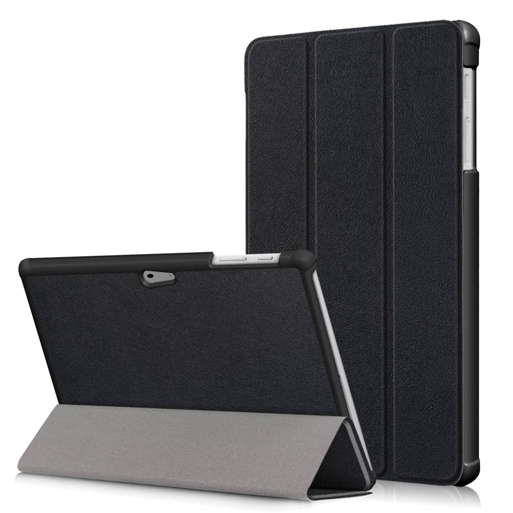Kotelo Tri-fold Microsoft Surface Go musta