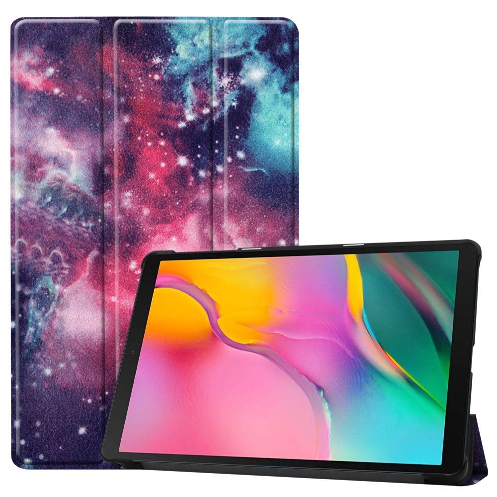 Kotelo Tri-fold Galaxy Tab A 10.1 2019 ulkoavaruus