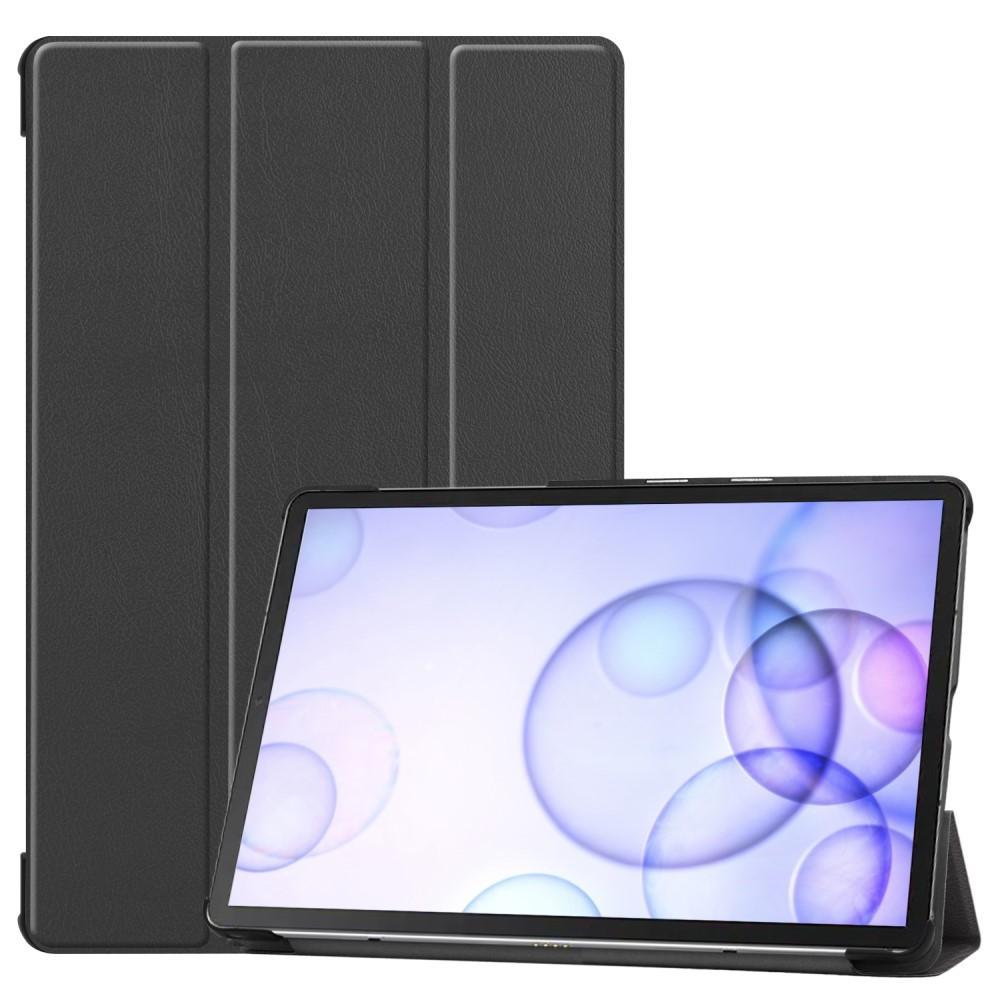 Kotelo Tri-fold Samsung Galaxy Tab S6 10.5 musta