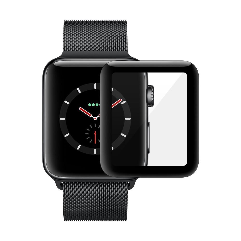 Koko Näytön Panssarilasi Apple Watch 38mm svart