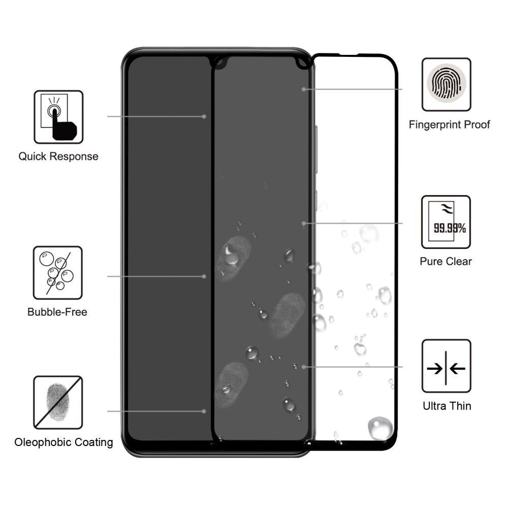 Koko Näytön Panssarilasi Huawei P30 Pro svart