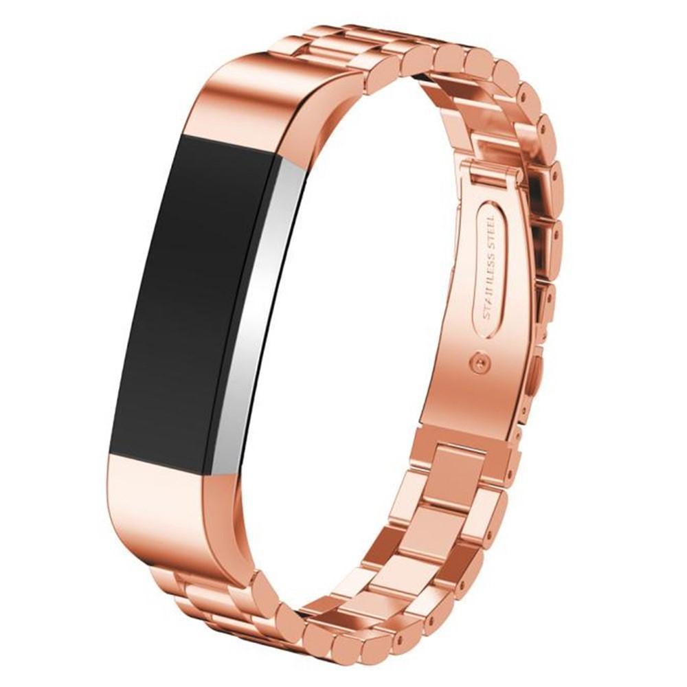 Metalliranneke Fitbit Alta/Alta HR ruusukulta