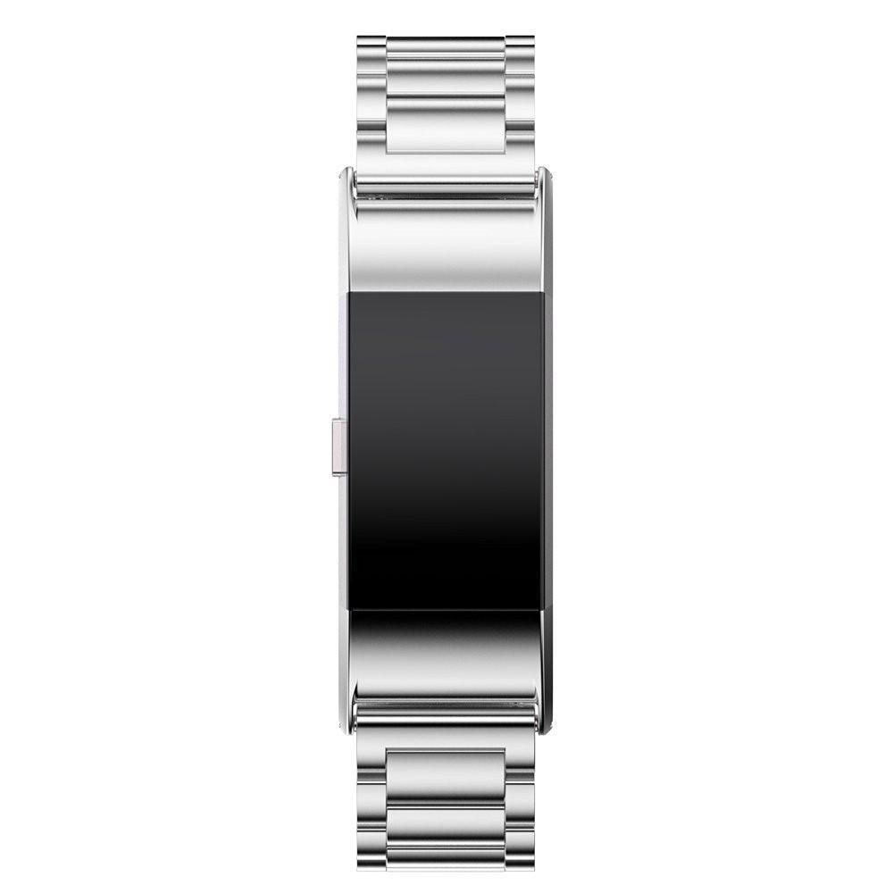 Metalliranneke Fitbit Charge 2 hopea