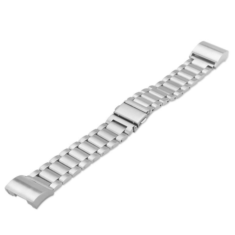 Metalliranneke Fitbit Charge 3/4 hopea