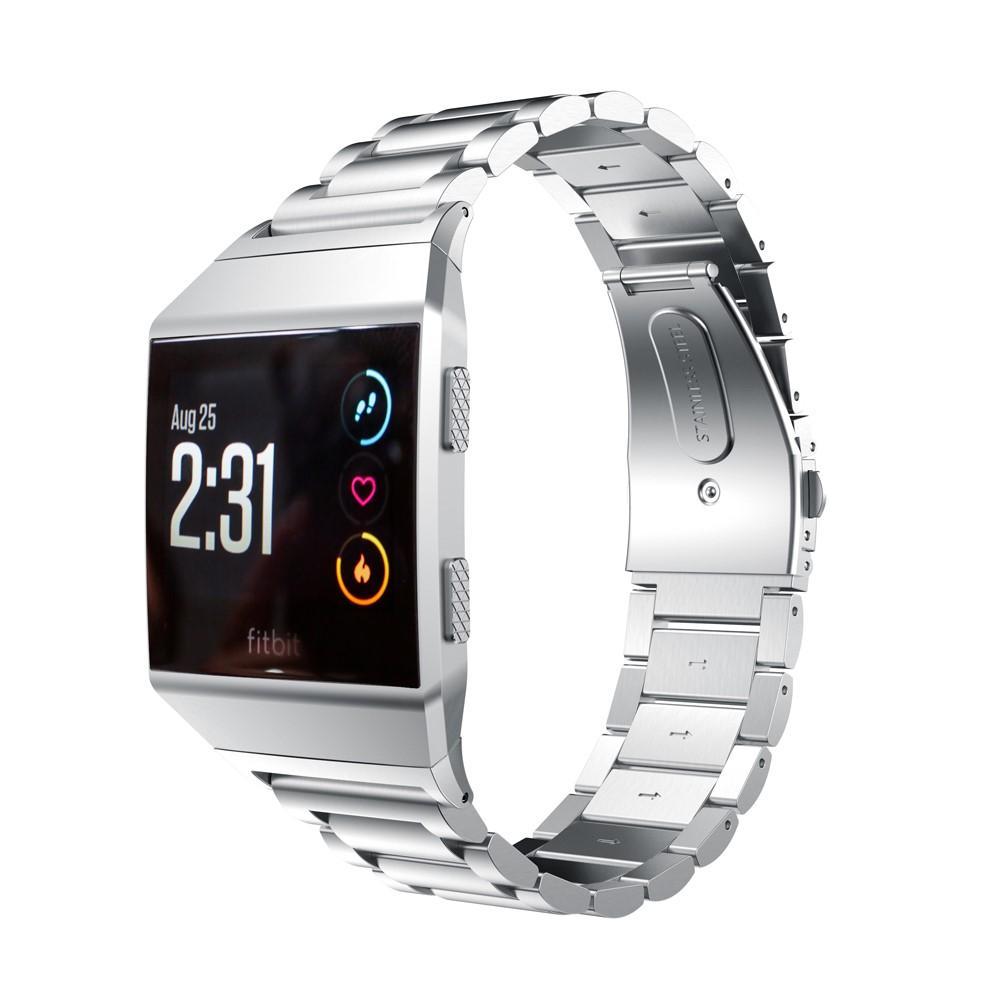Metalliranneke Fitbit Ionic hopea