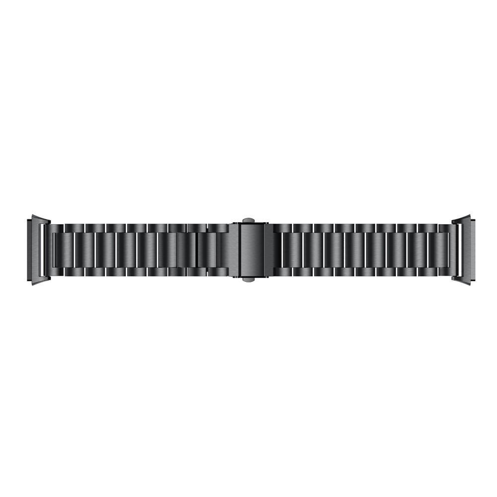 Metalliranneke Fitbit Ionic musta