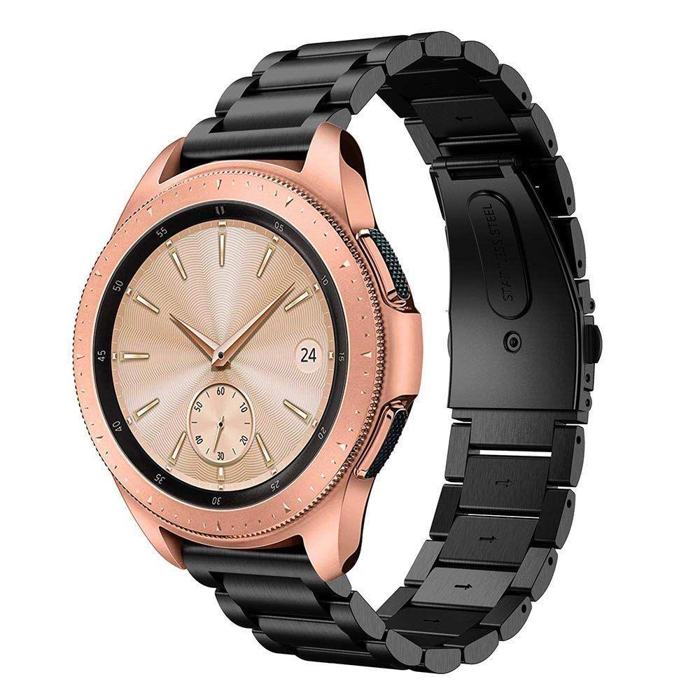 Metalliranneke Samsung Galaxy Watch 42mm musta