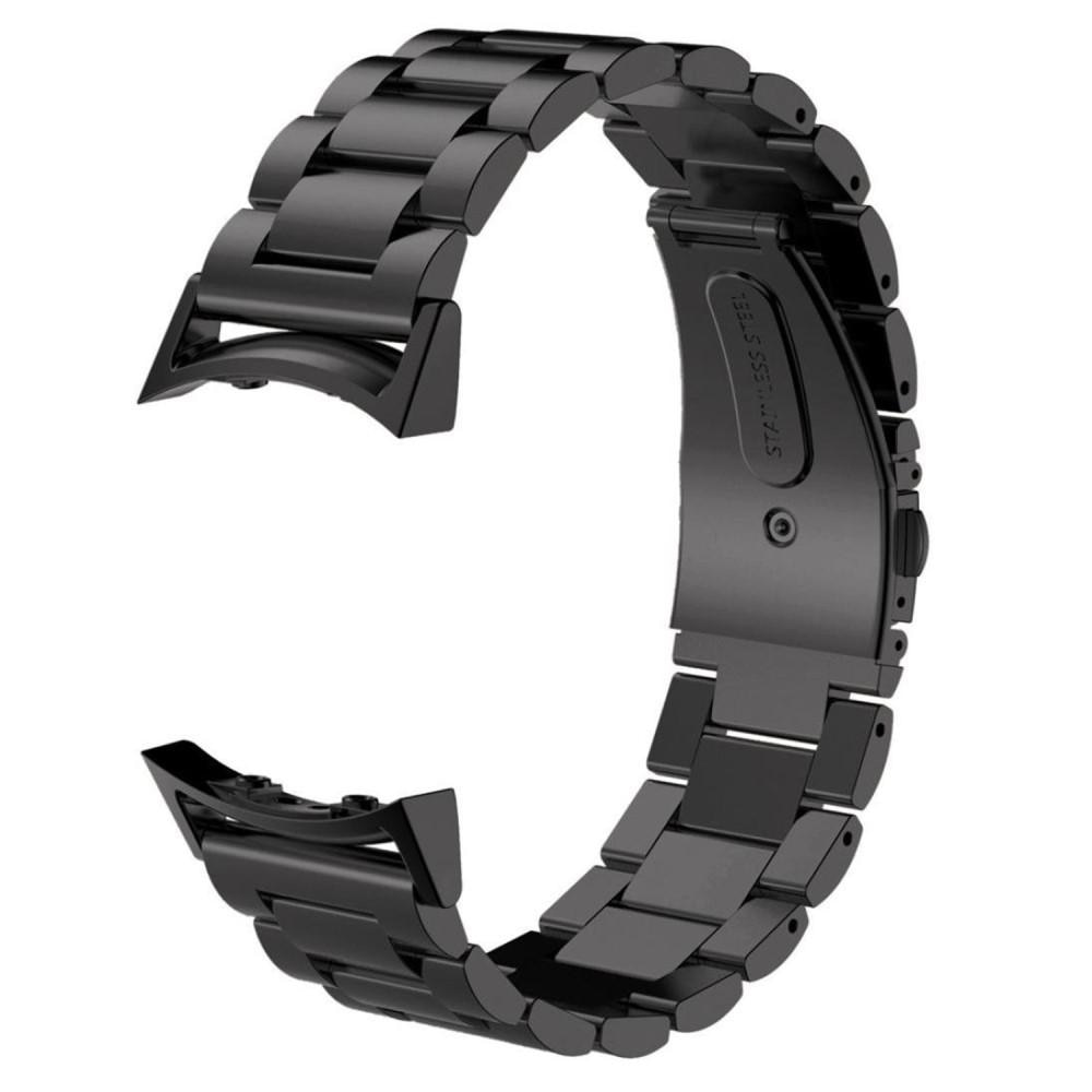 Metalliranneke Samsung Gear S2 musta