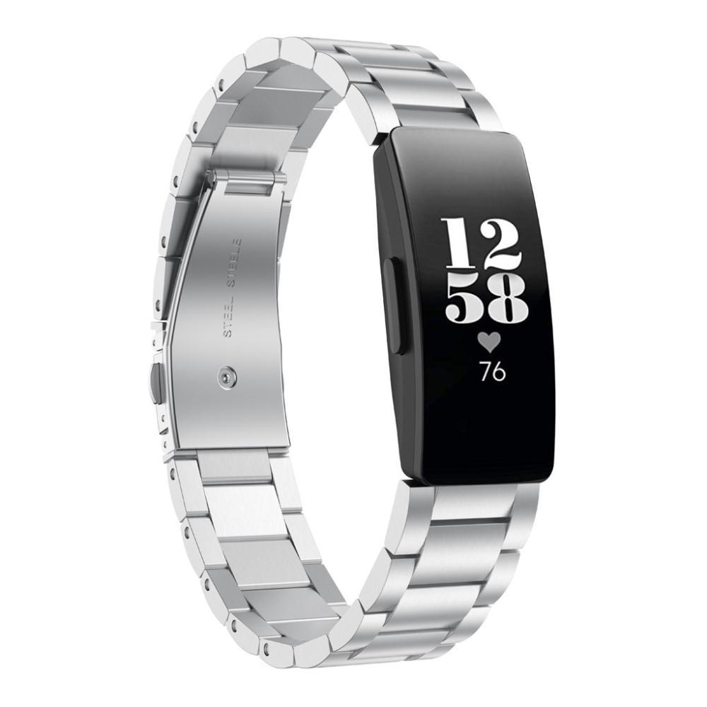 Metalliranneke Fitbit Inspire/Inspire HR/Inspire 2 hopea