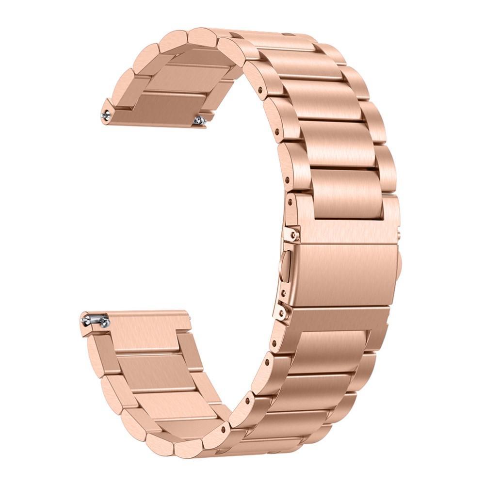Metalliranneke Fitbit Versa/Versa Lite/Versa 2 ruusukulta