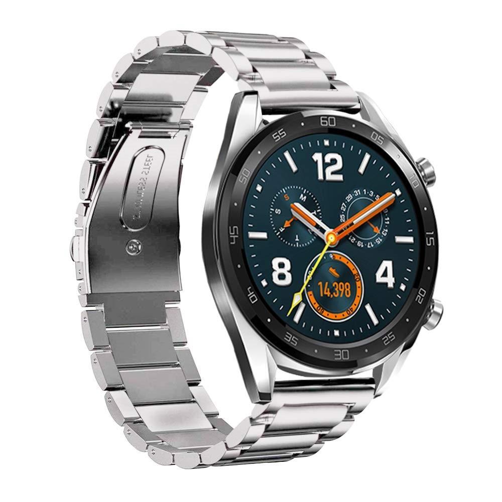 Metalliranneke Huawei Watch GT/GT 2 46mm/GT 2e hopea