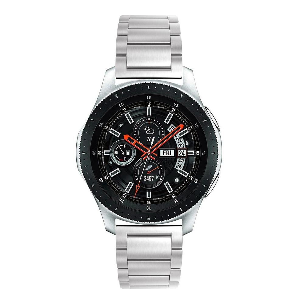 Metalliranneke Samsung Galaxy Watch 46mm hopea