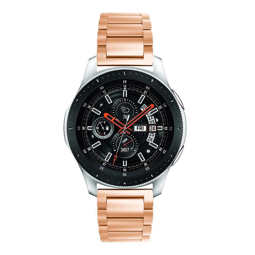 Metalliranneke Samsung Galaxy Watch 46mm ruusukulta