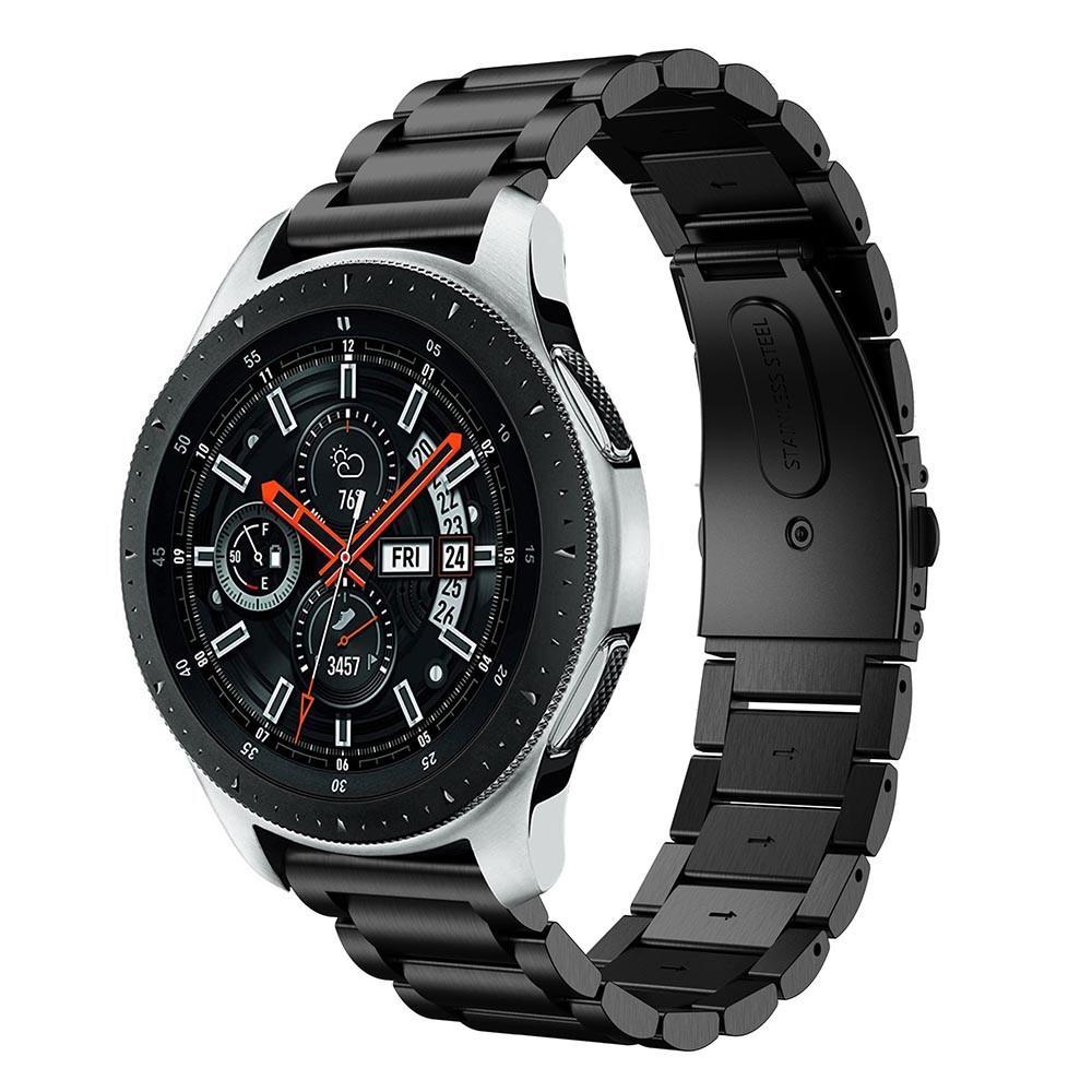 Metalliranneke Samsung Galaxy Watch 46mm musta