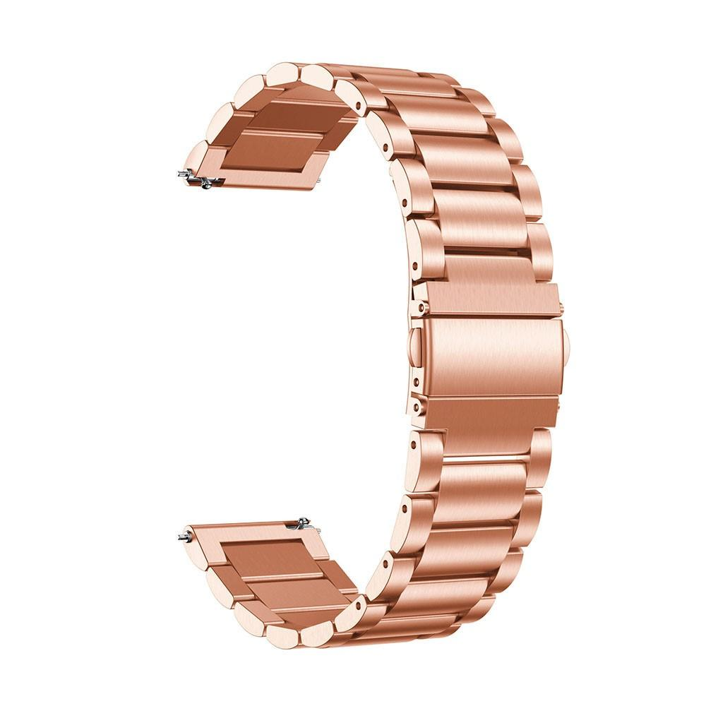 Metalliranneke Samsung Galaxy Watch Active ruusukulta