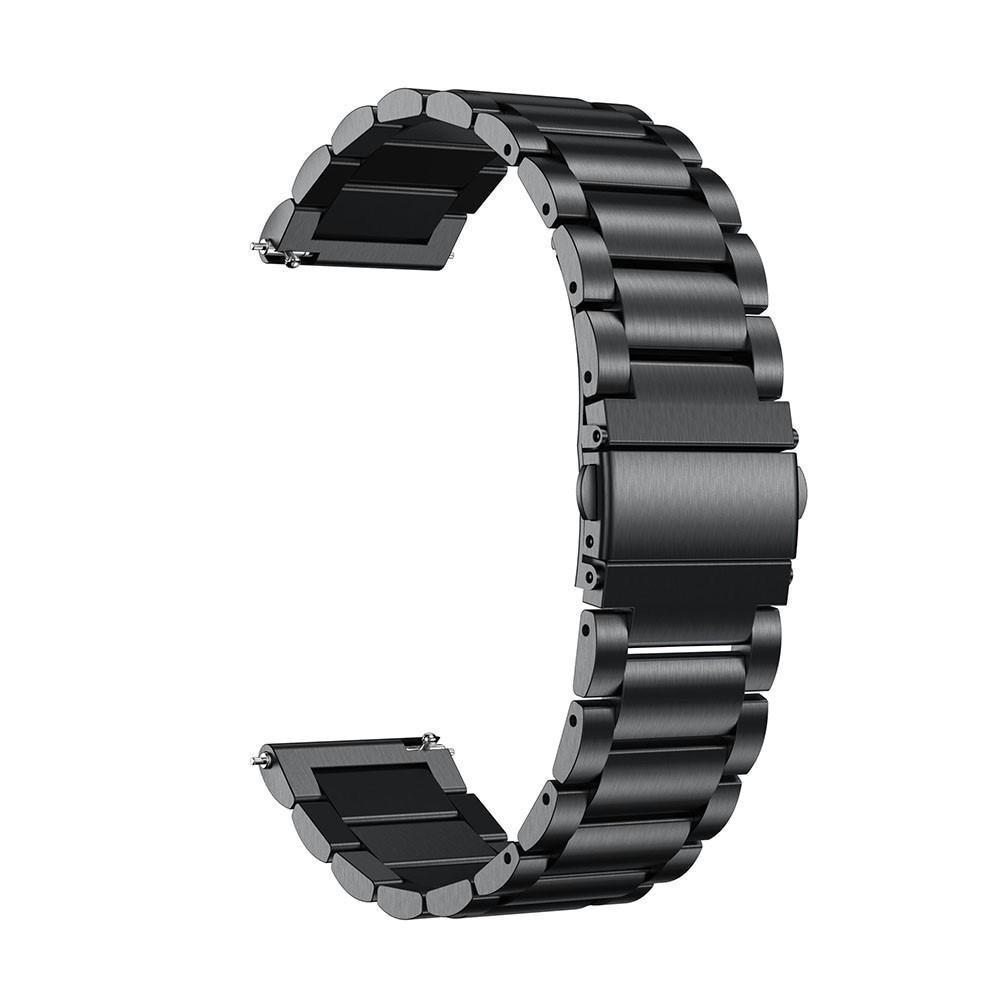 Metalliranneke Samsung Galaxy Watch Active musta