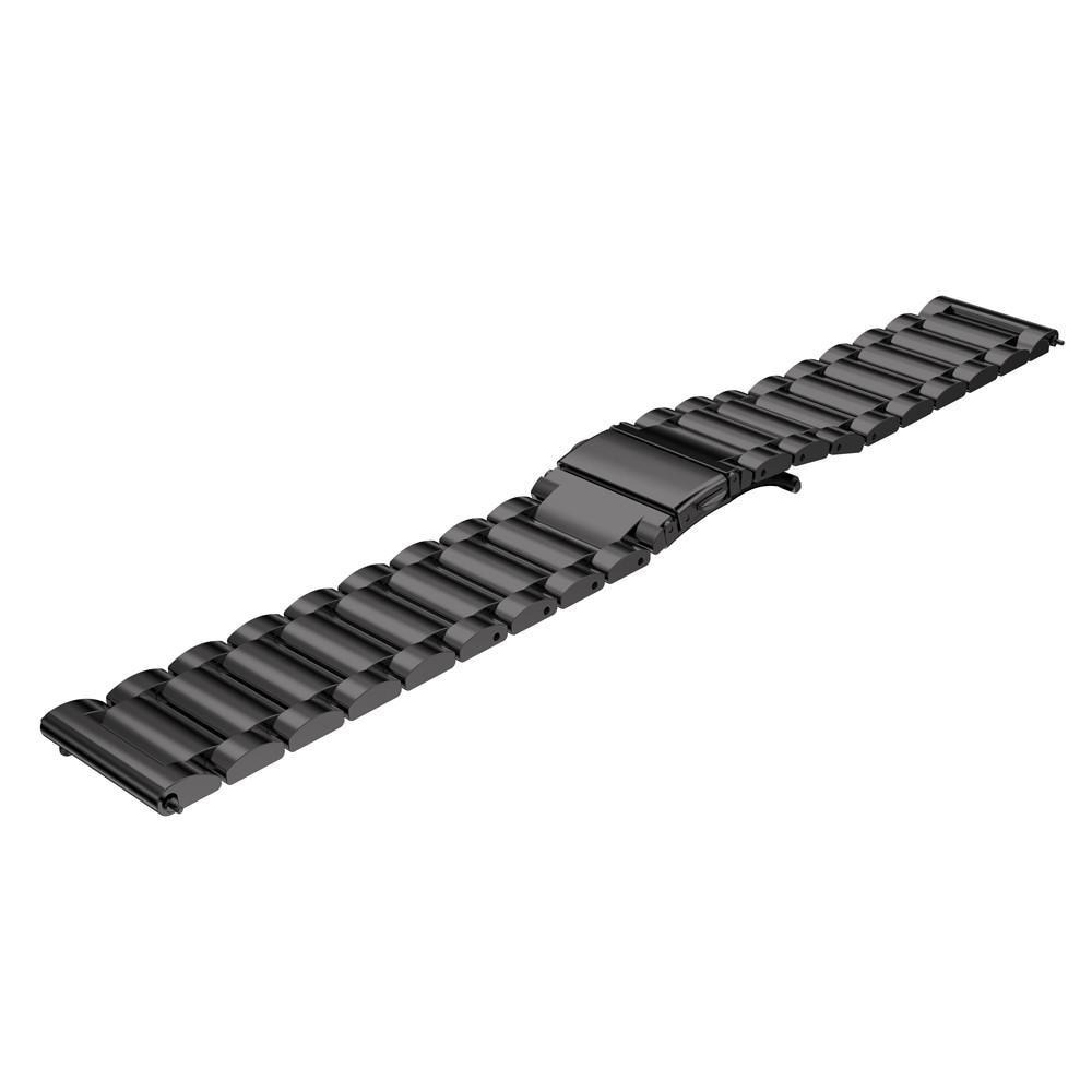 Metalliranneke Samsung Gear S3 Frontier/S3 Classic musta
