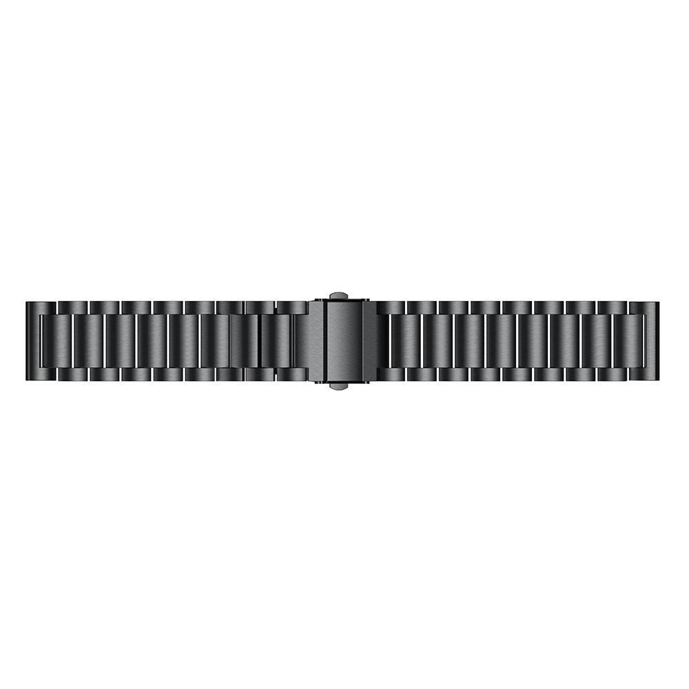 Metalliranneke Samsung Gear Sport musta